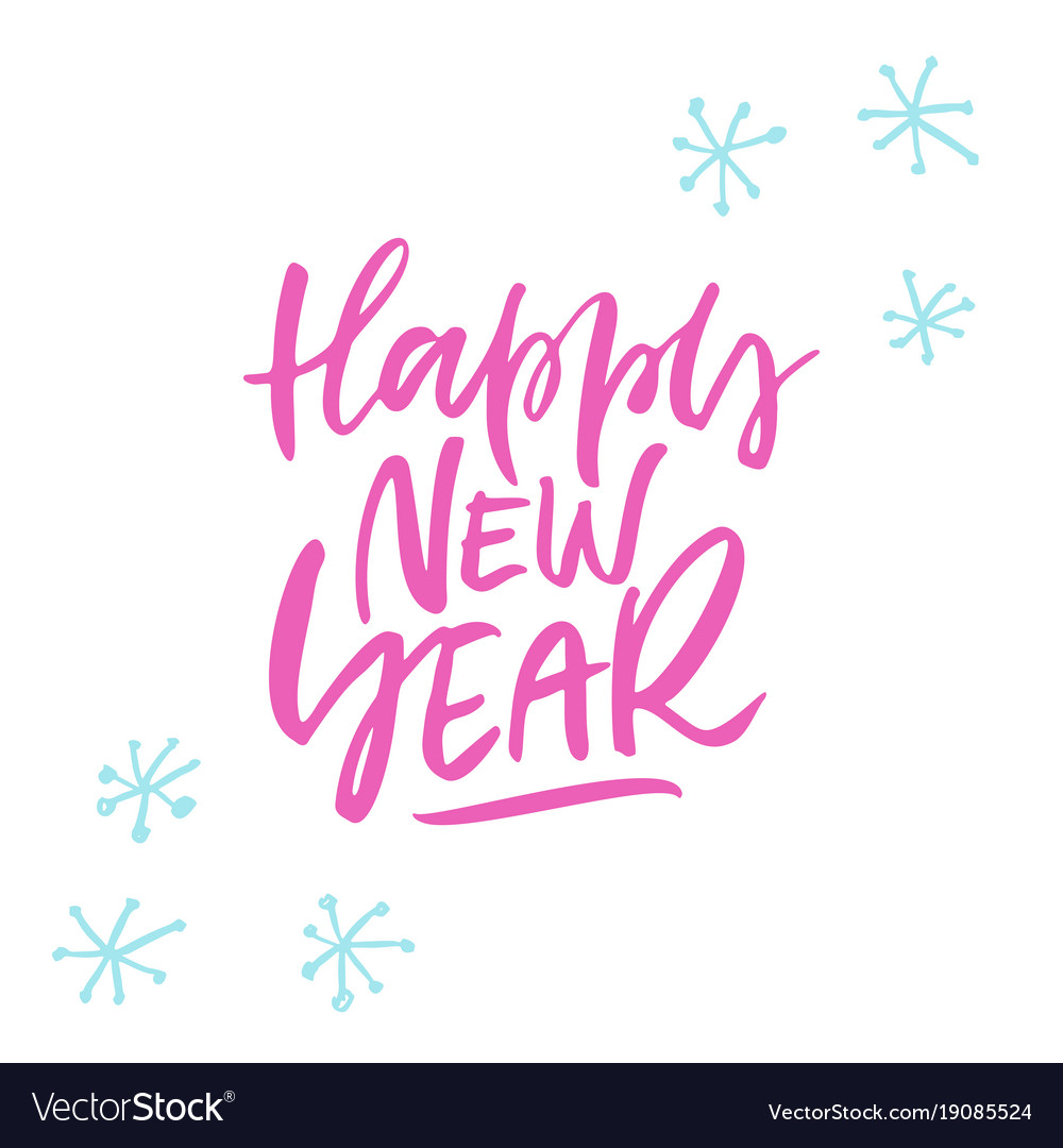 Happy New Year Lettering Design 70