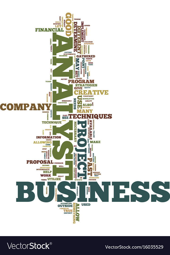 Techniques available to business analyst text