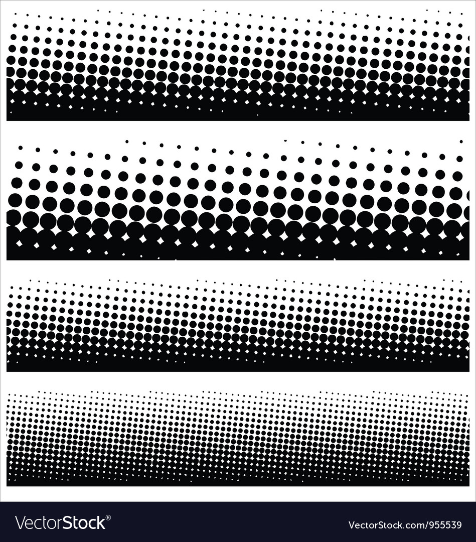 Halftone elements for your design