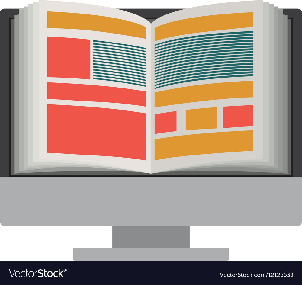 Isolated ebook and computer design