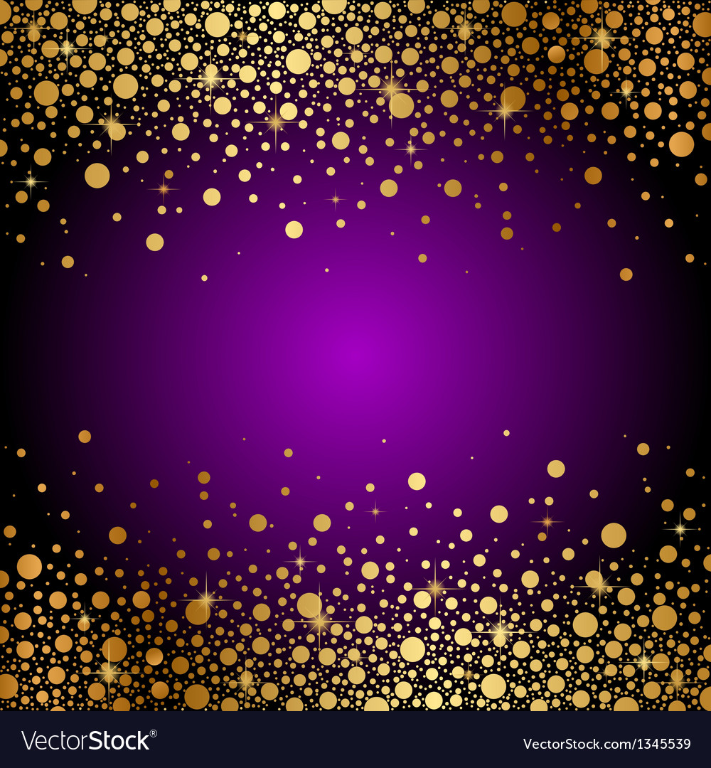 Royalty Free Purple And Gold Backgrounds Clip Art, Vector