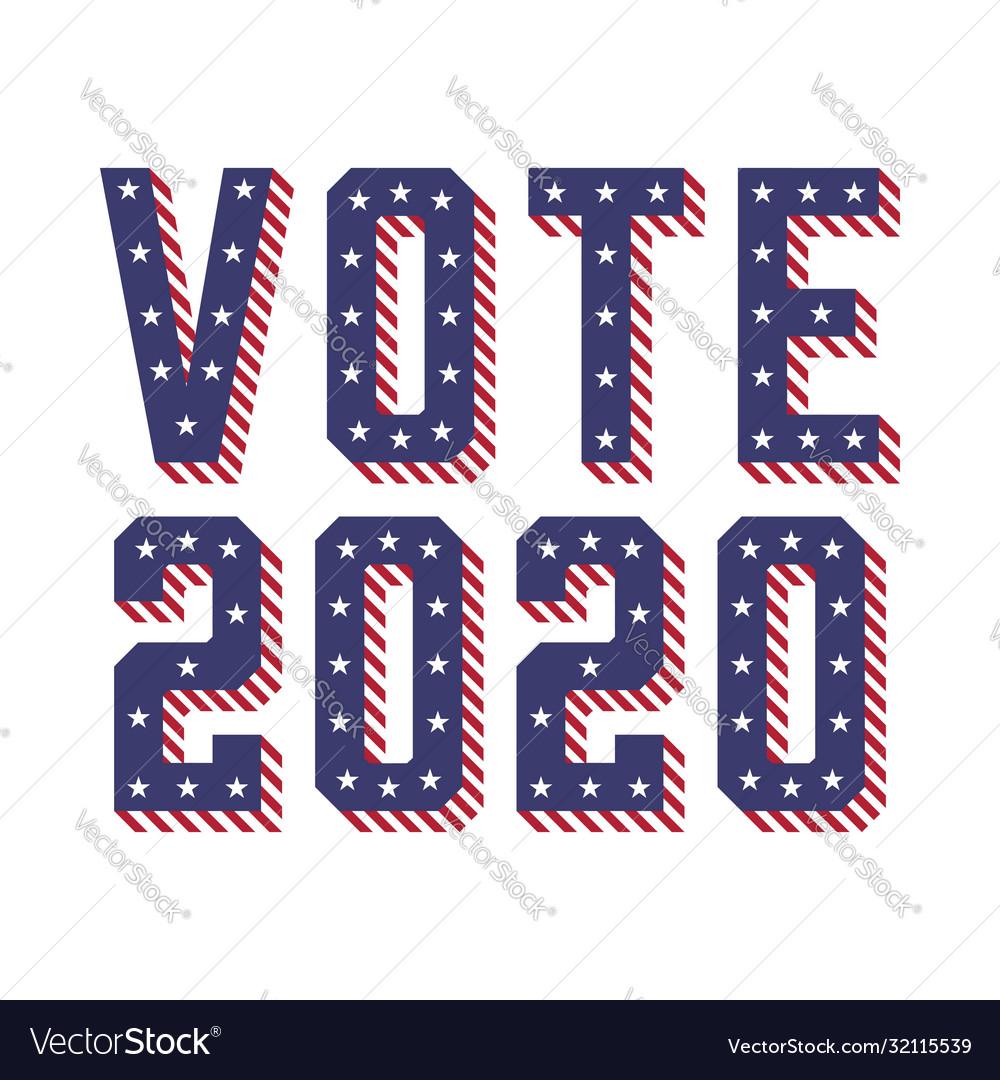 United states america usa elections vote 2020
