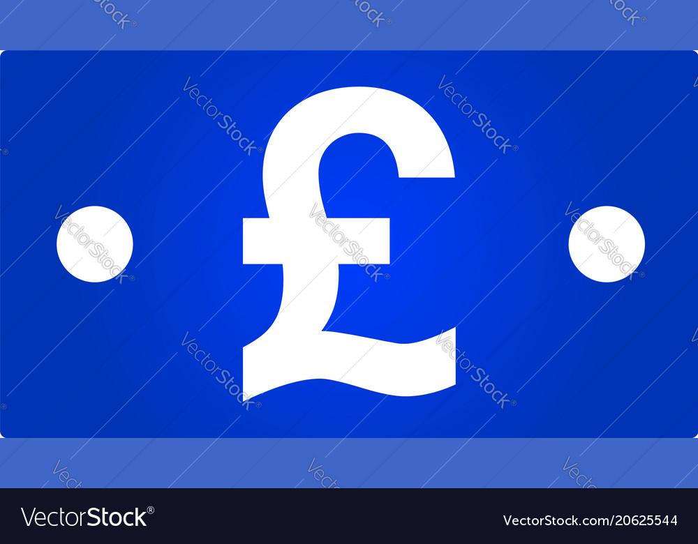 Pound bill icon