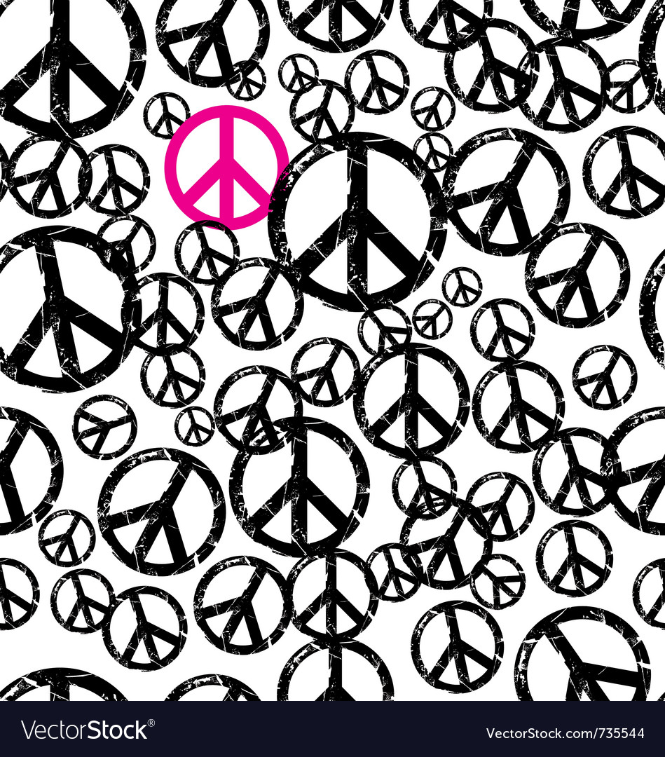 Seamless hippie background