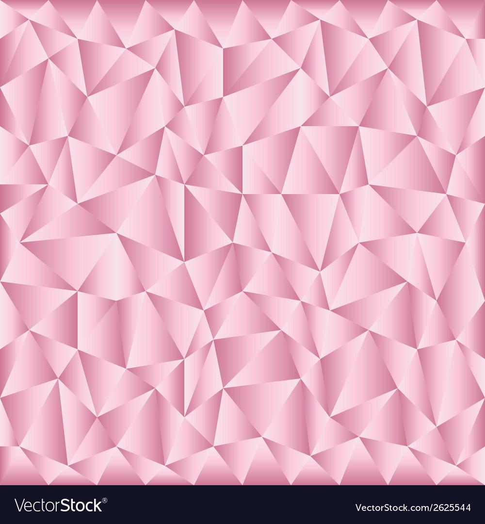 Triangular pink background