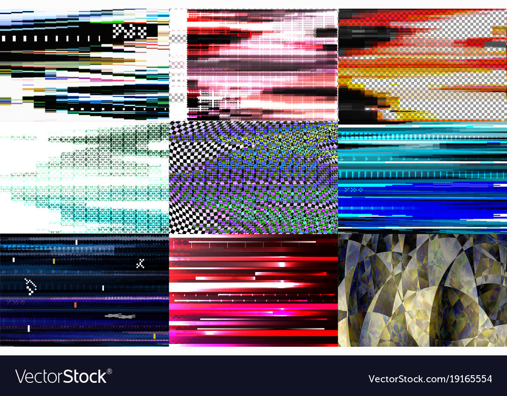 Glitch background glitchy abstract texture