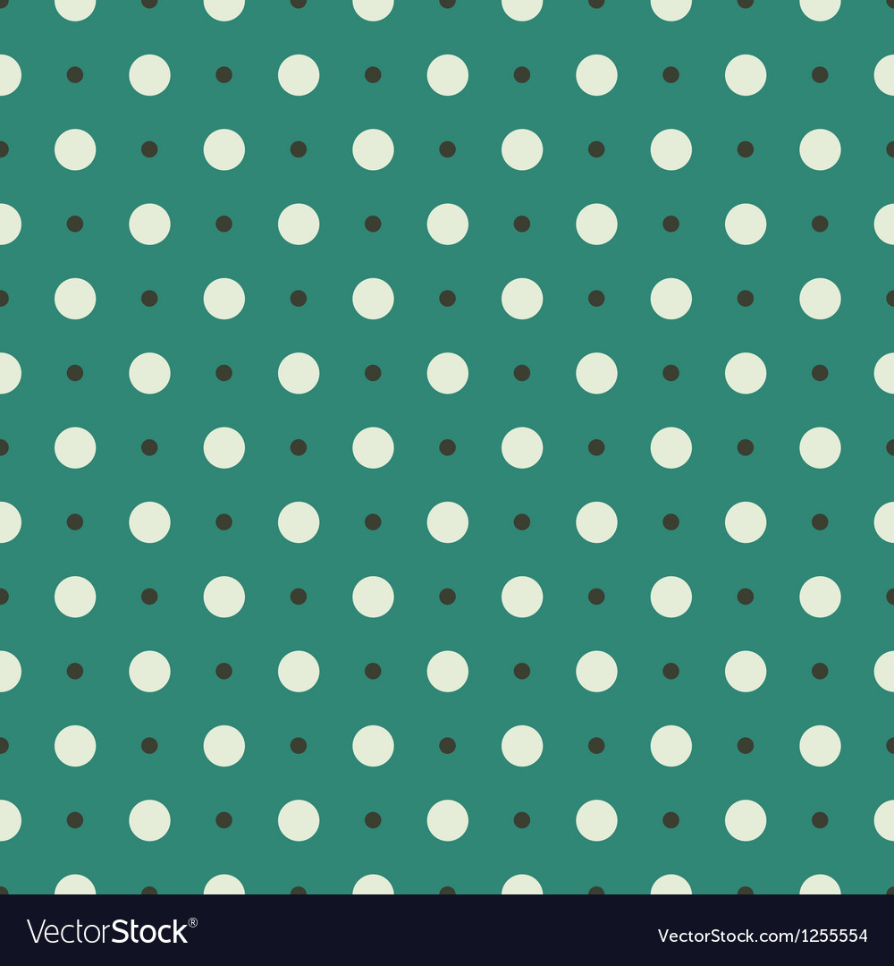 Seamless turquoise vintage pattern vector image