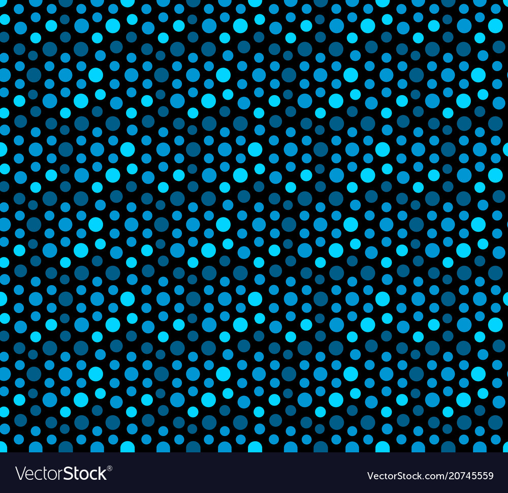 Blue ocean sequins seamless pattern abstract vector image