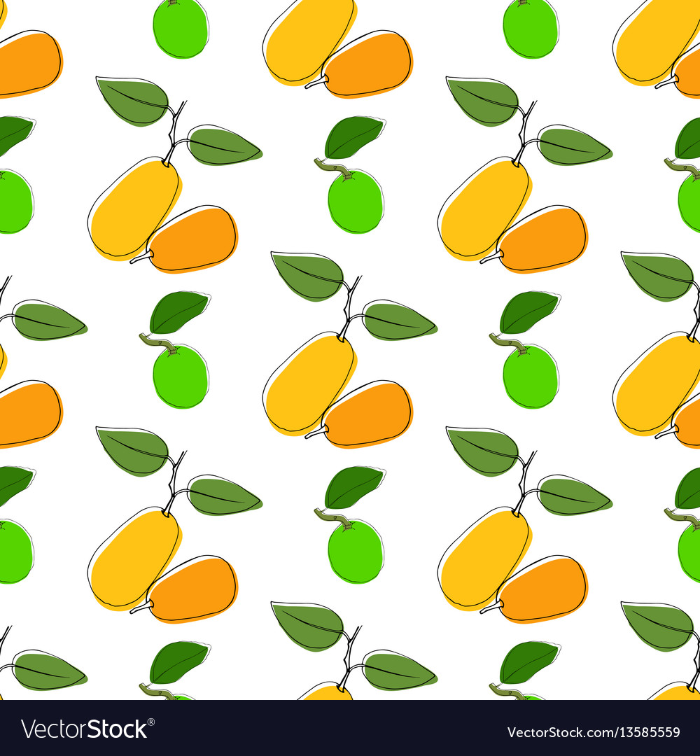 Seamless pattern background with hand drawn