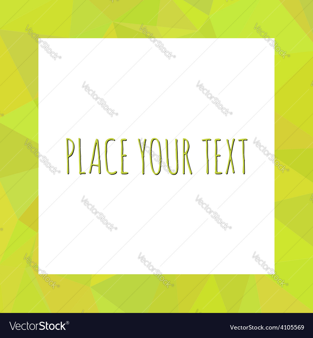 Abstract Triangle Shape Background layout for Web
