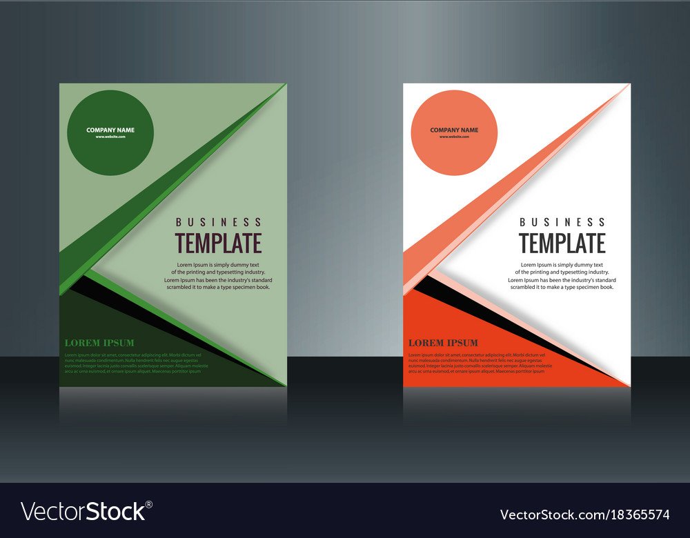 Sets of vertical business card print template vector image reheart Gallery