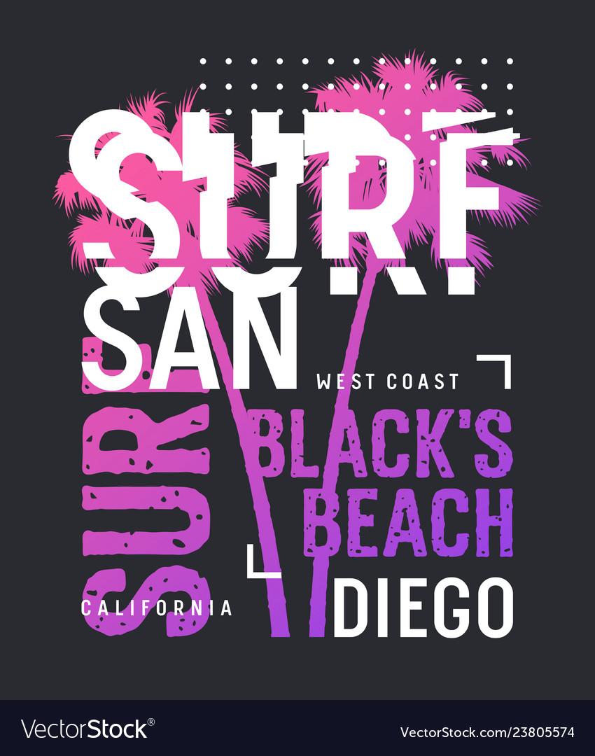 Surfing print 024