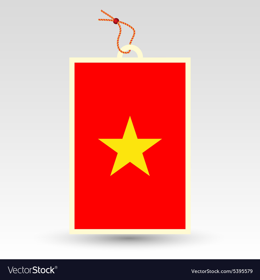 Vietnamese made in tag