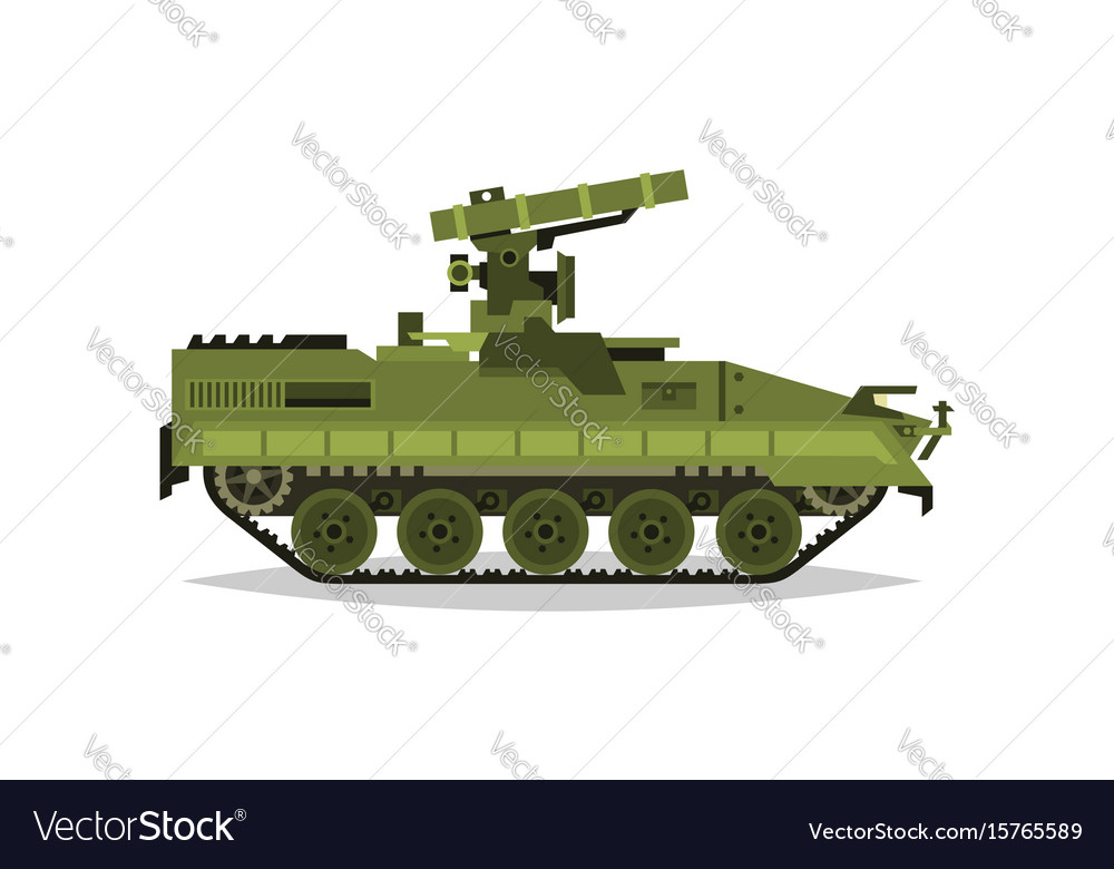 Self-propelled anti-tank missile system research