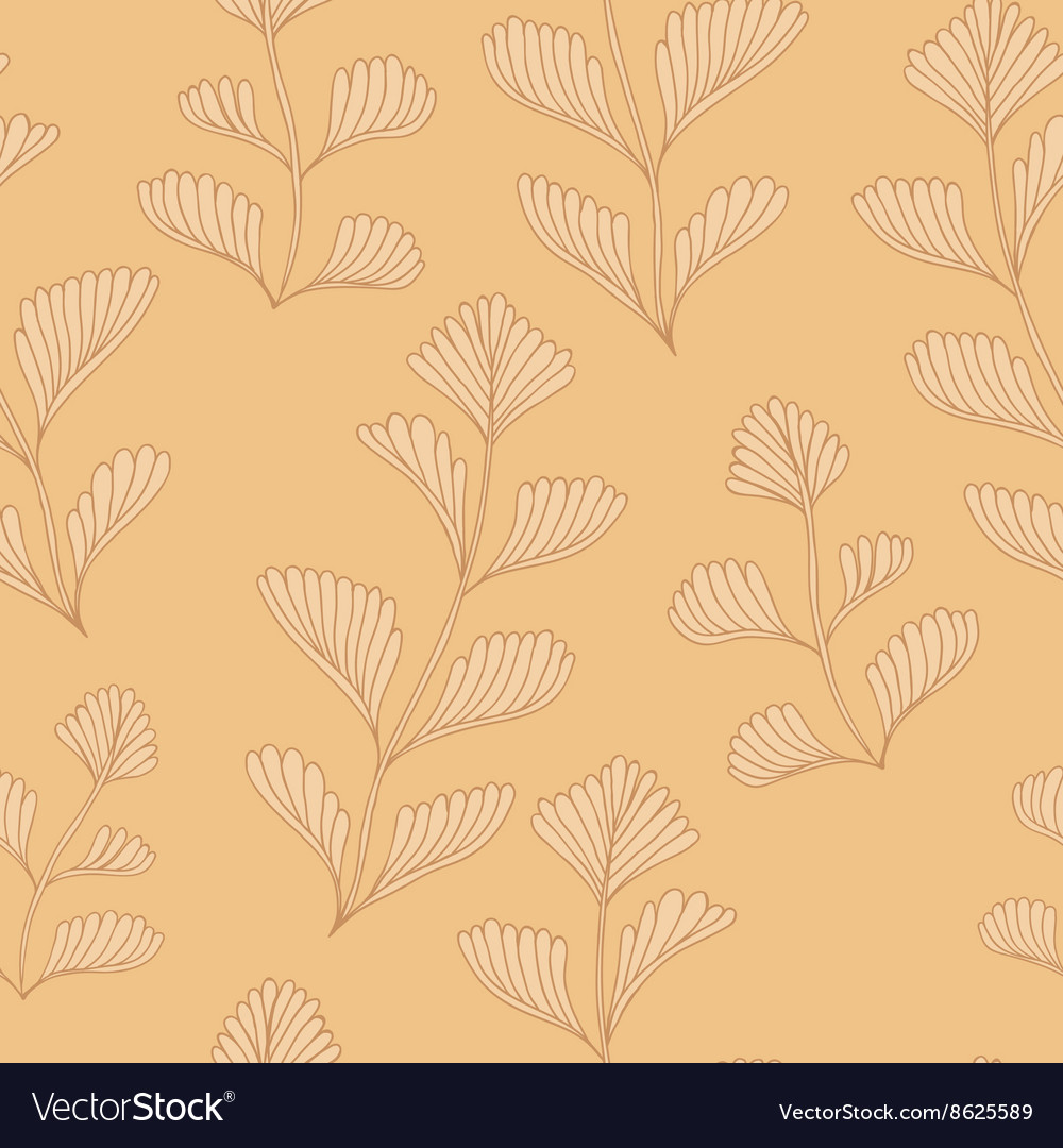 Textured Wooden Branches Seamless Pattern