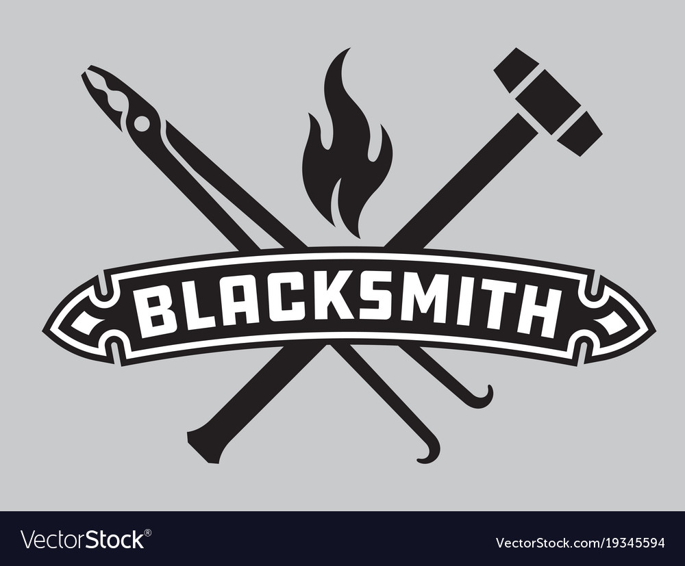 Blacksmith emblem or badge