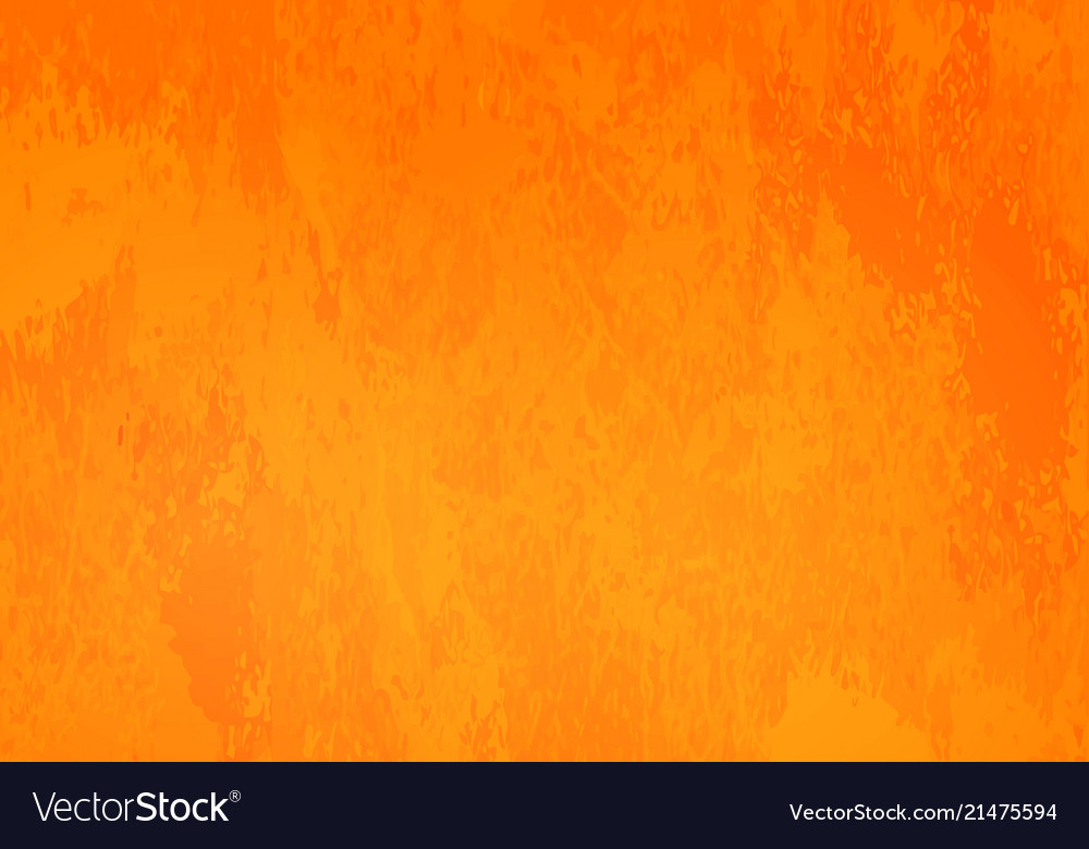 Bright orange grunge background