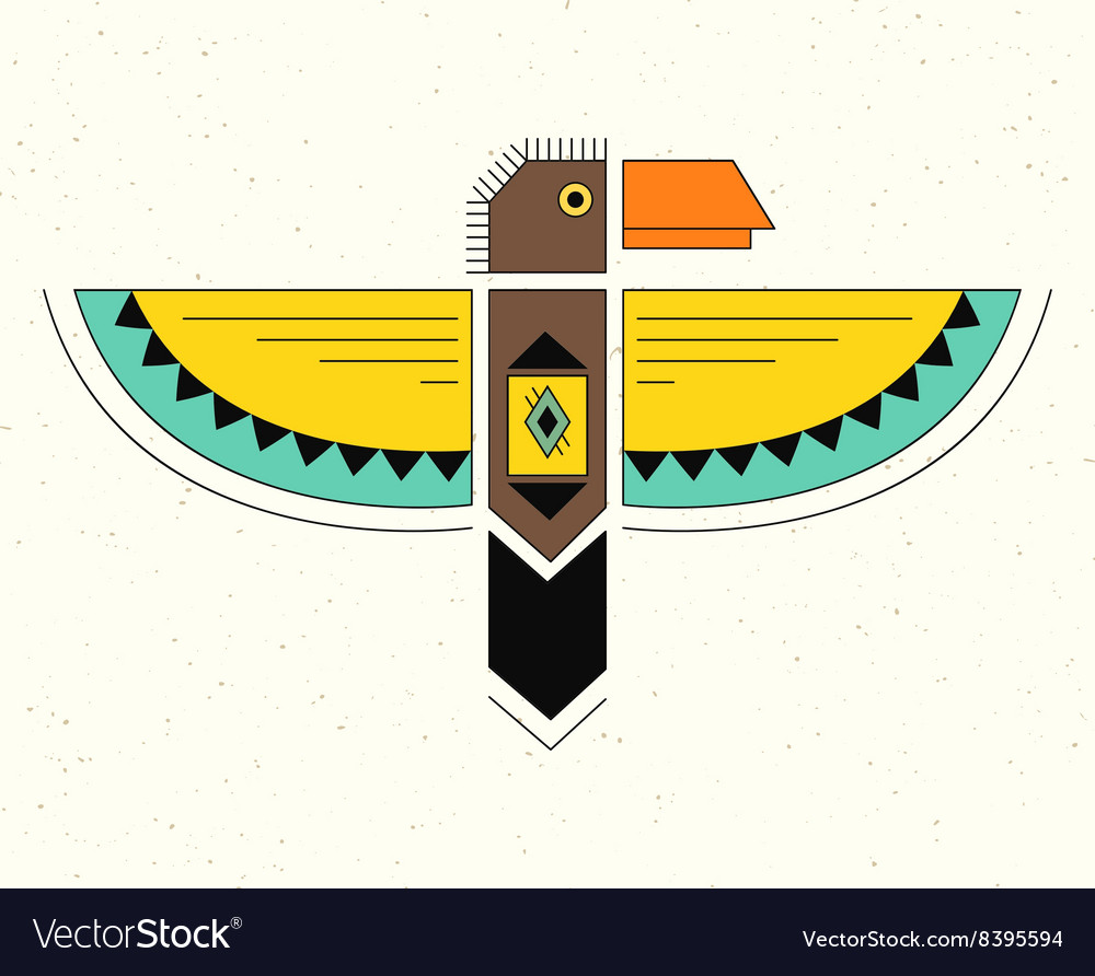 Linear logo thunderbird