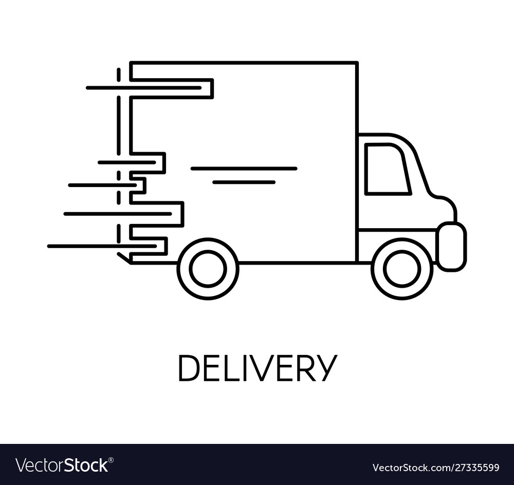 Delivery and fast shipping service shop or