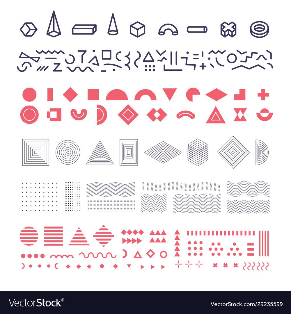 Geometric memphis elements set group