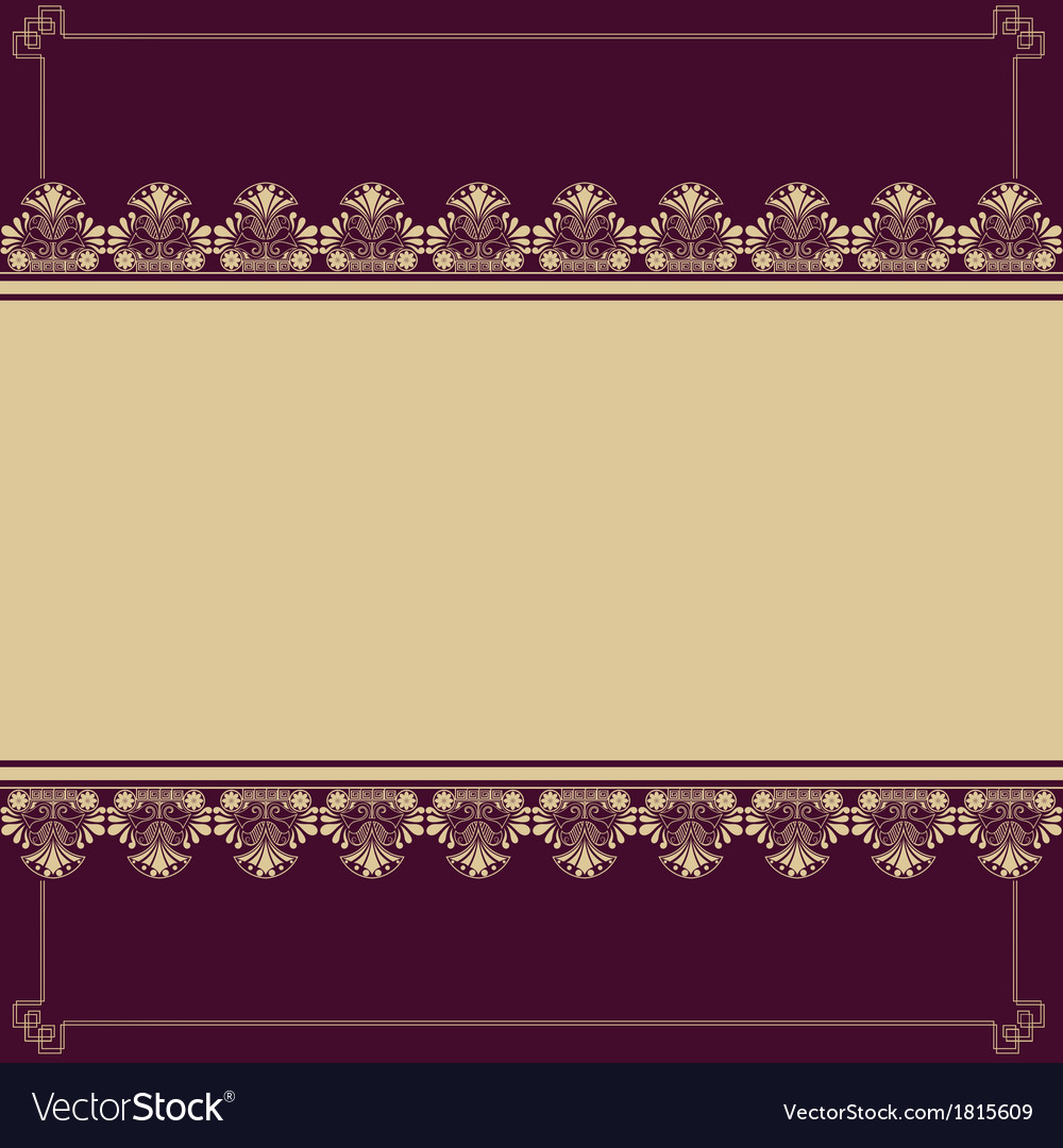 Background with antique design elements
