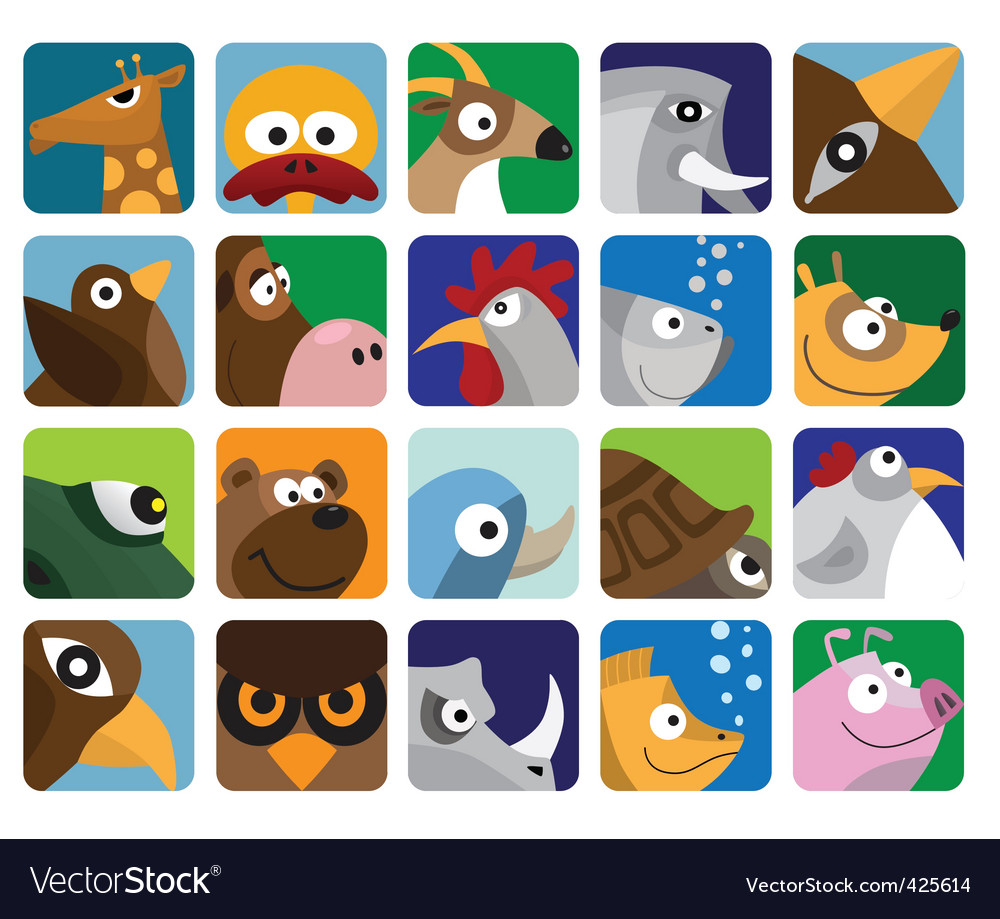Animal icon pack