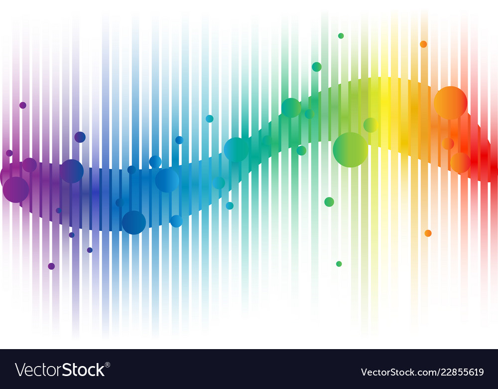 Rainbow abstract background for web