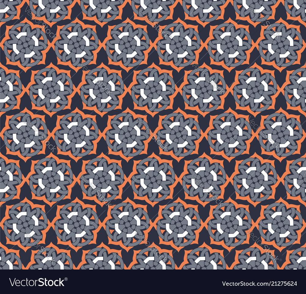 Arabic seamless ornament pattern ornamental