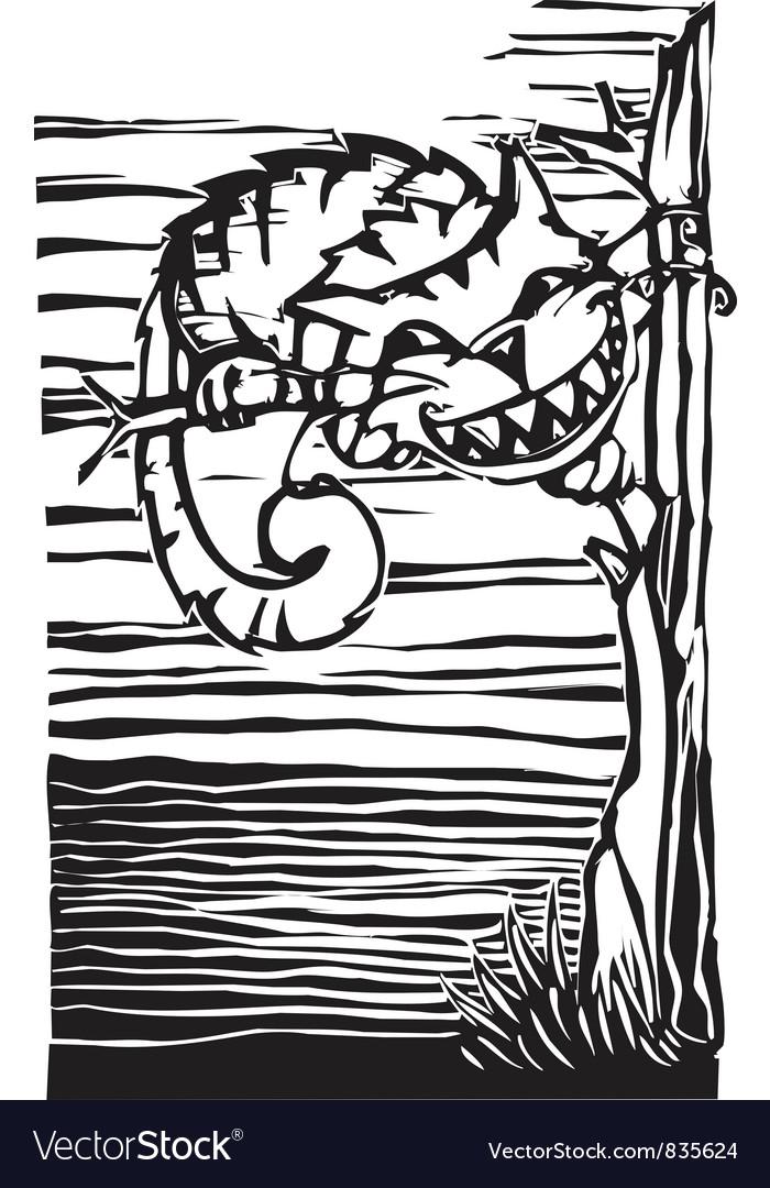 Cheshire Cat vector image
