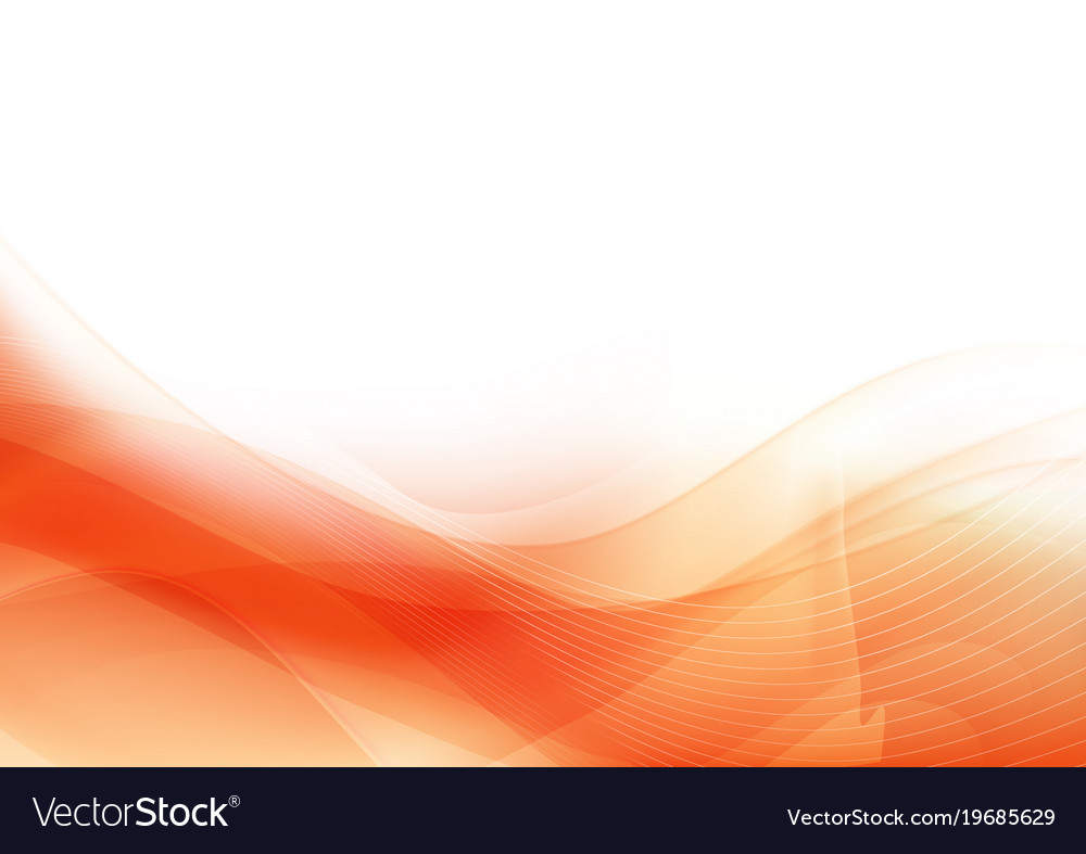 Curve and blend light orange abstract background
