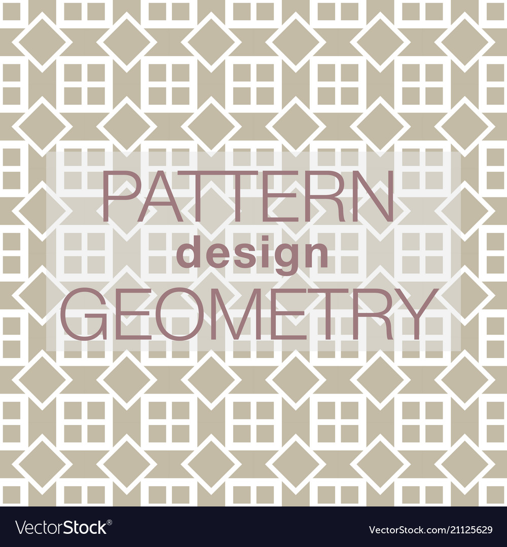 Seamless pattern in colors with geometric