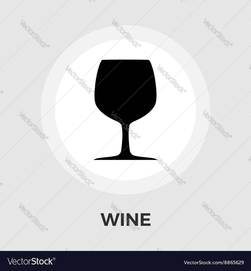 Wine flat icon