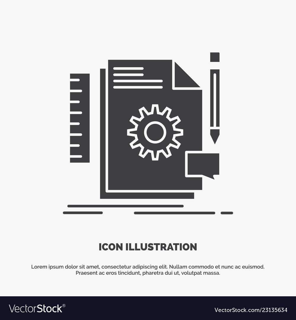 Creative design develop feedback support icon