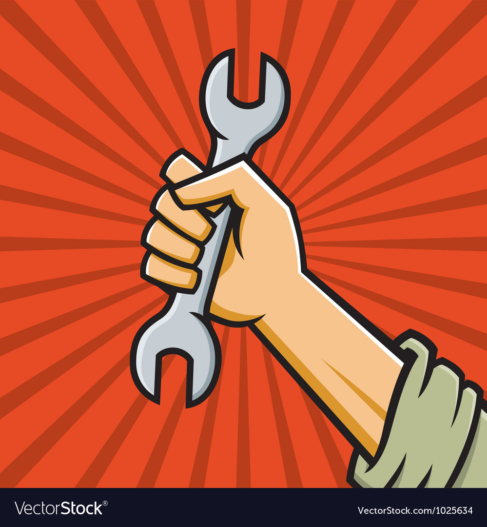 Image result for communist raised fist wrench workers'