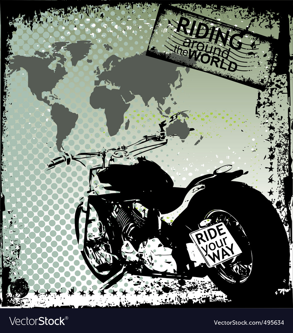 Riding around the world