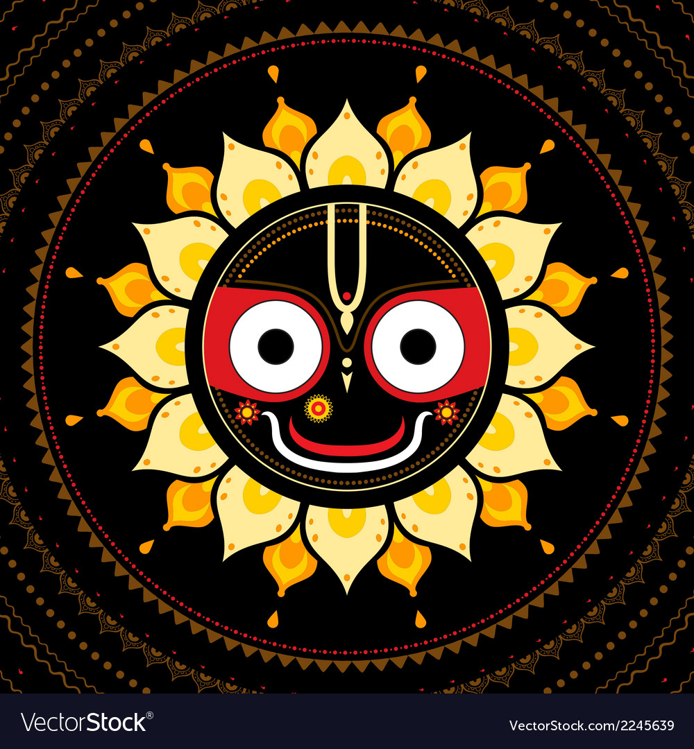 Jagannath Indian God of the Universe