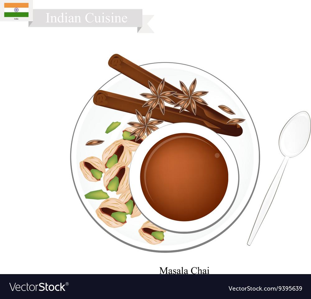 Masala Chai Traditional Indian Black Hot Tea