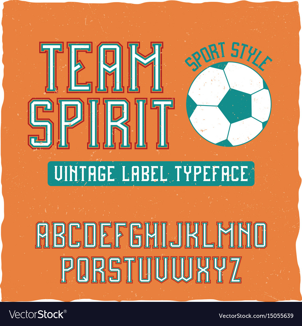 retro sports fonts free download