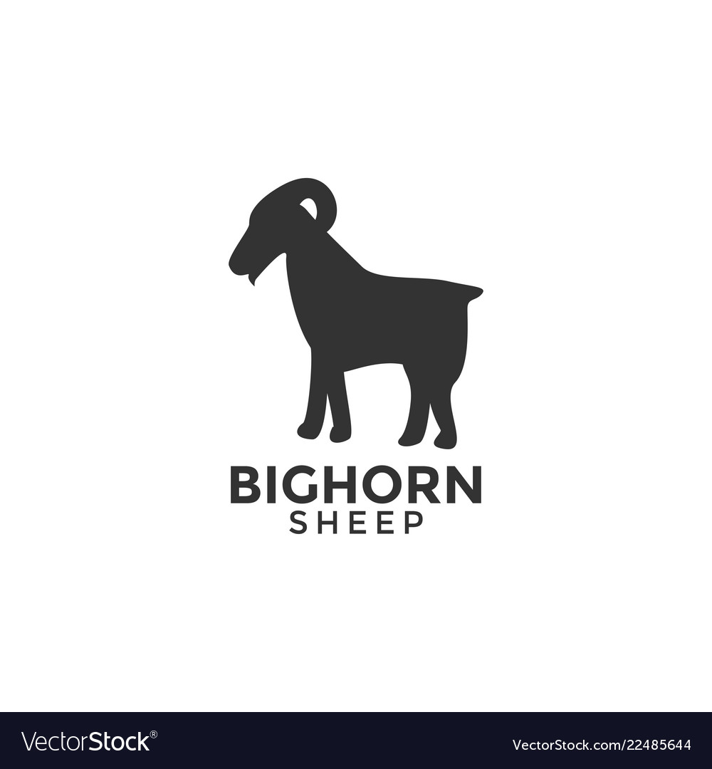 Sheep logo icon design template