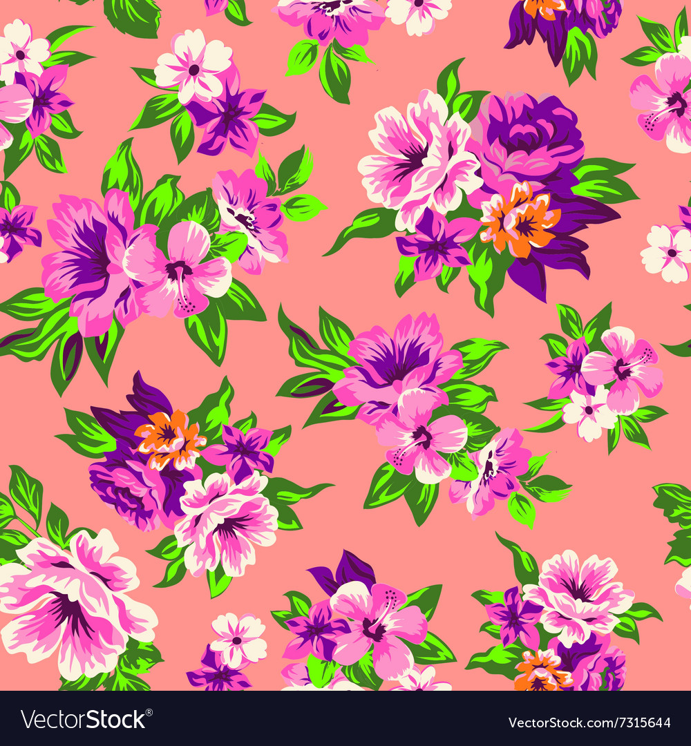 Sweet roses seamless background