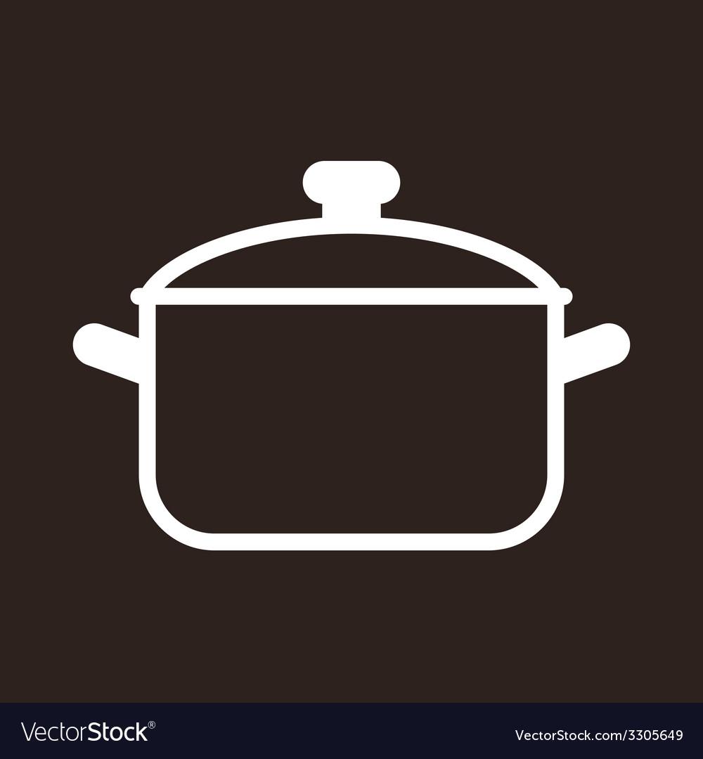 Cooking pot symbol
