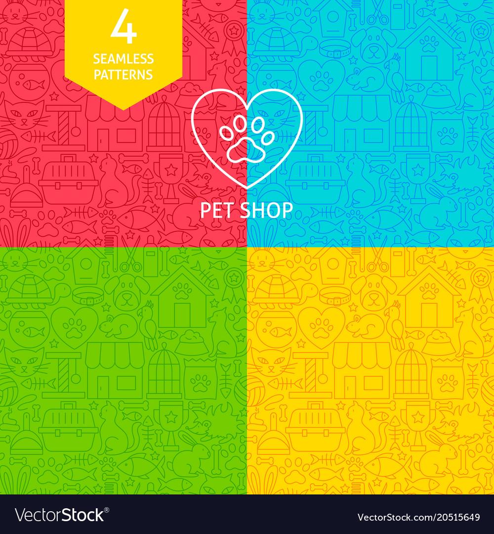 Line pet shop patterns