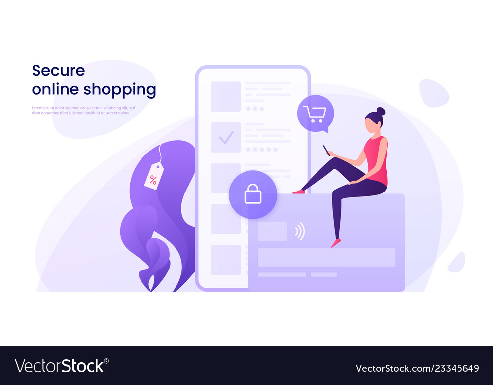 Secure online shopping protected payments using