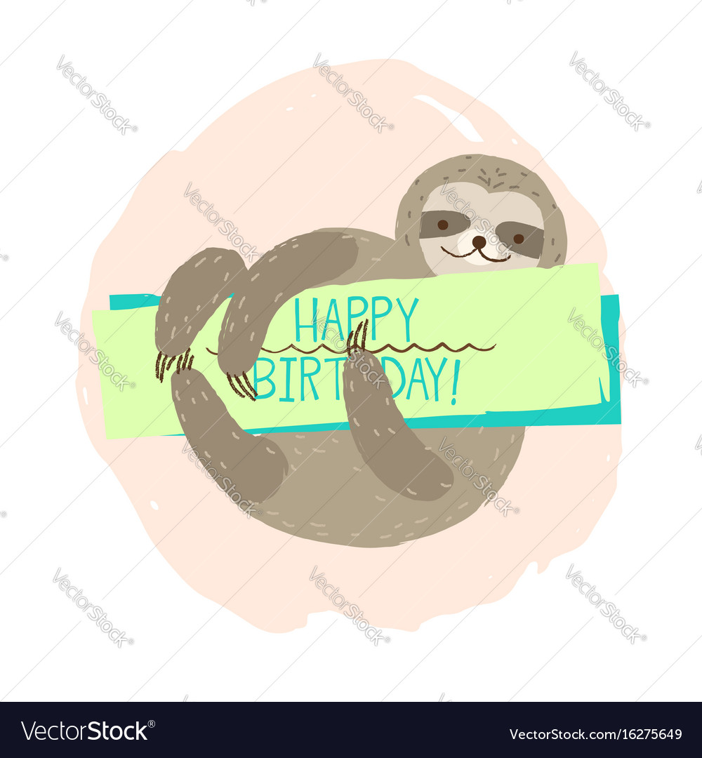 Sloth element of card