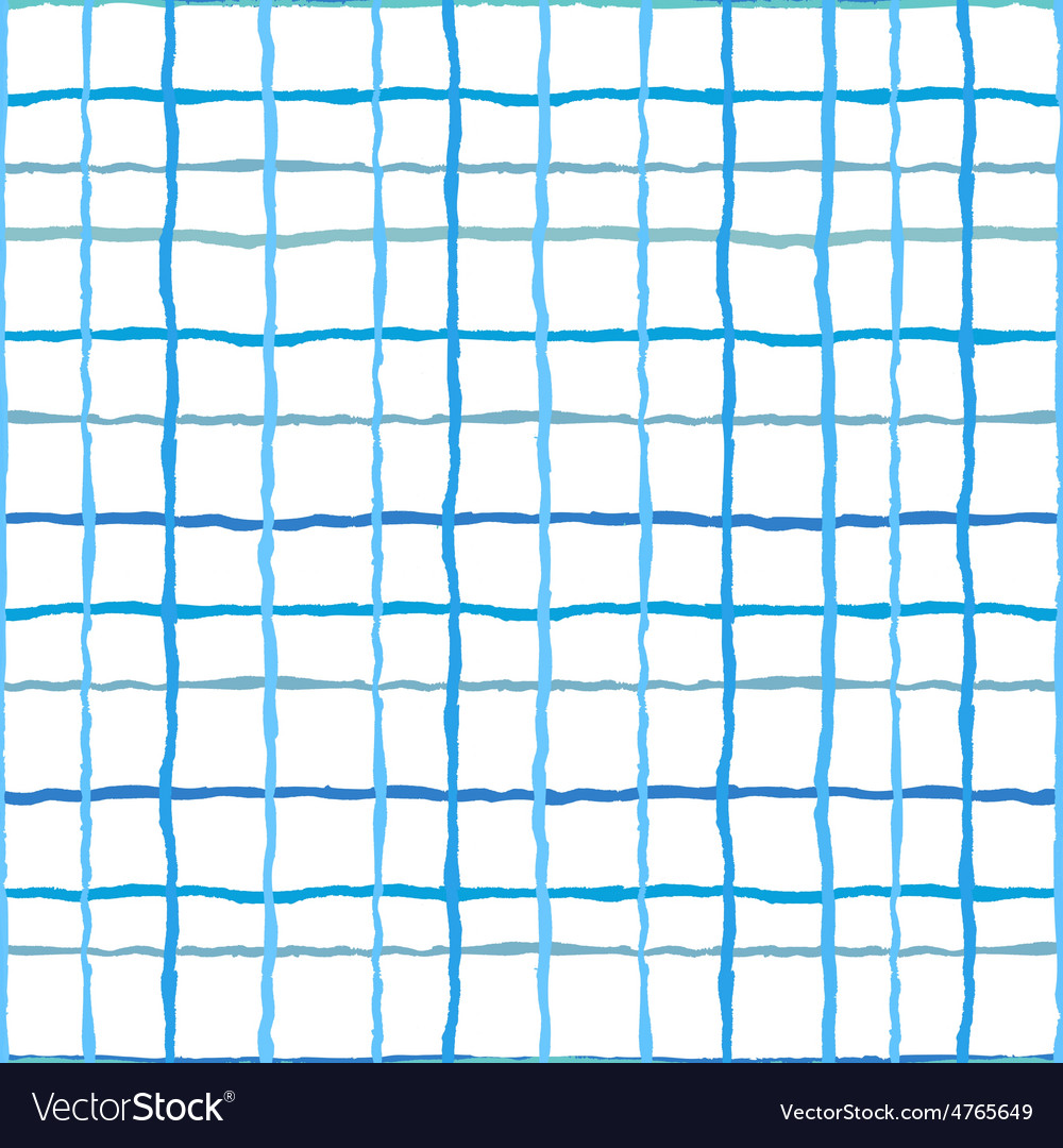 Watercolor stripes strokes seamless pattern