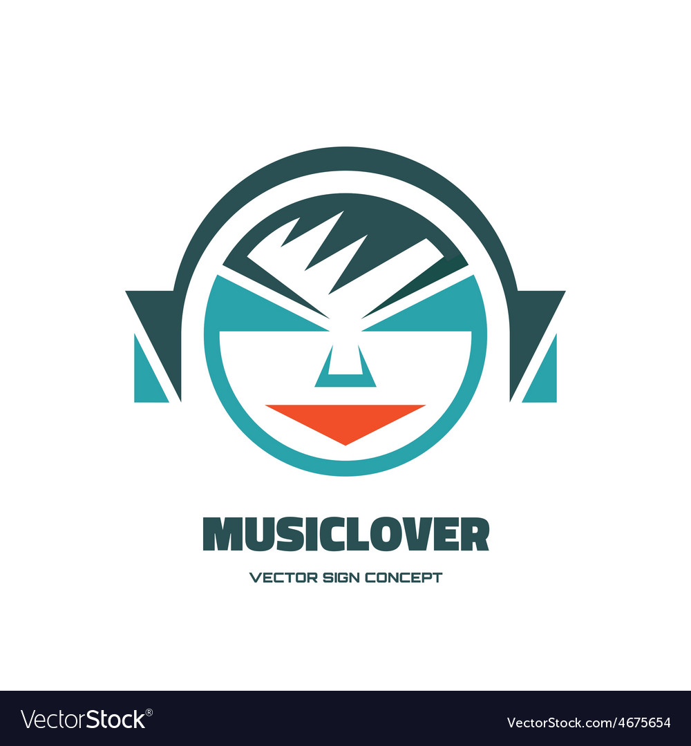 Music lover - logo concept