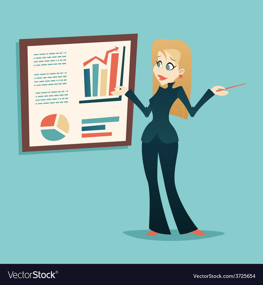 Presentation Infographics Retro Vintage