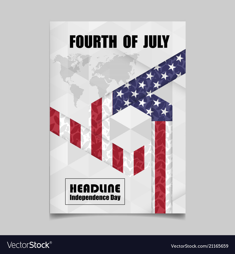 4th july independence day background design