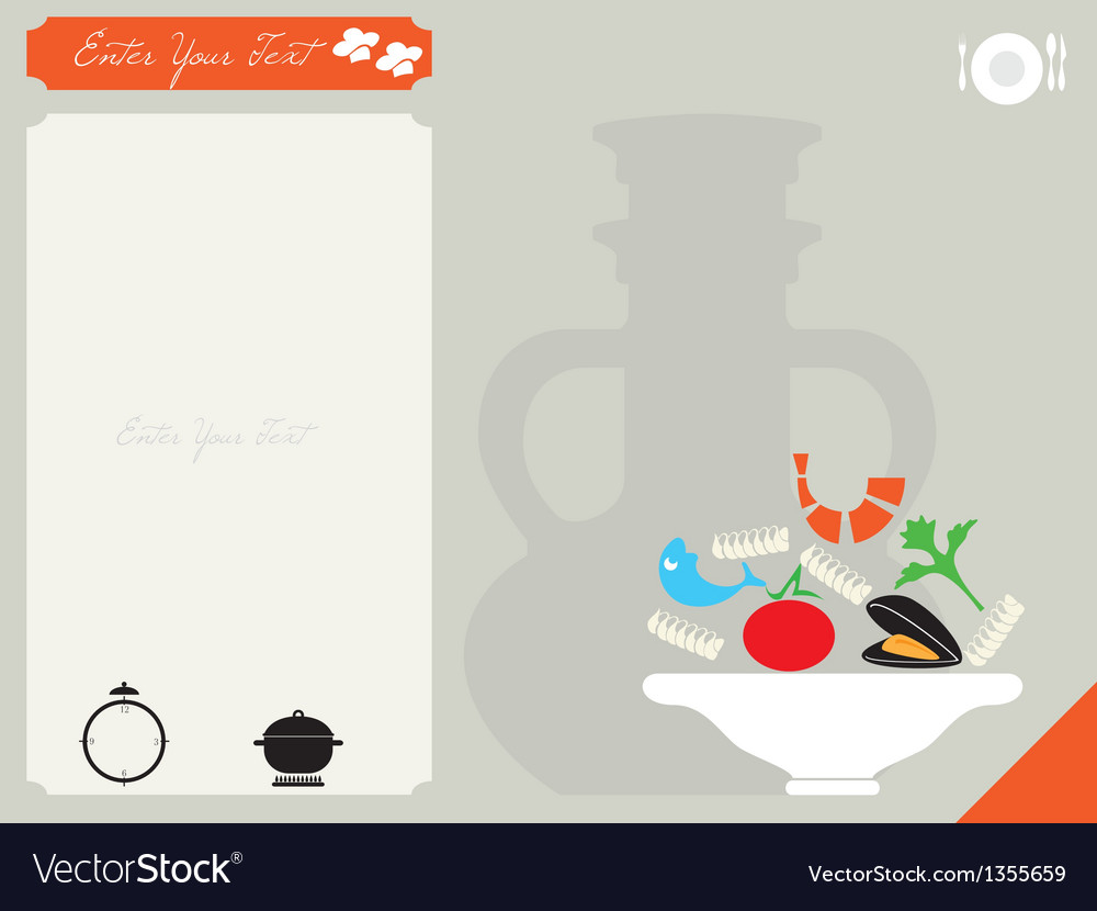 Card for the recipe