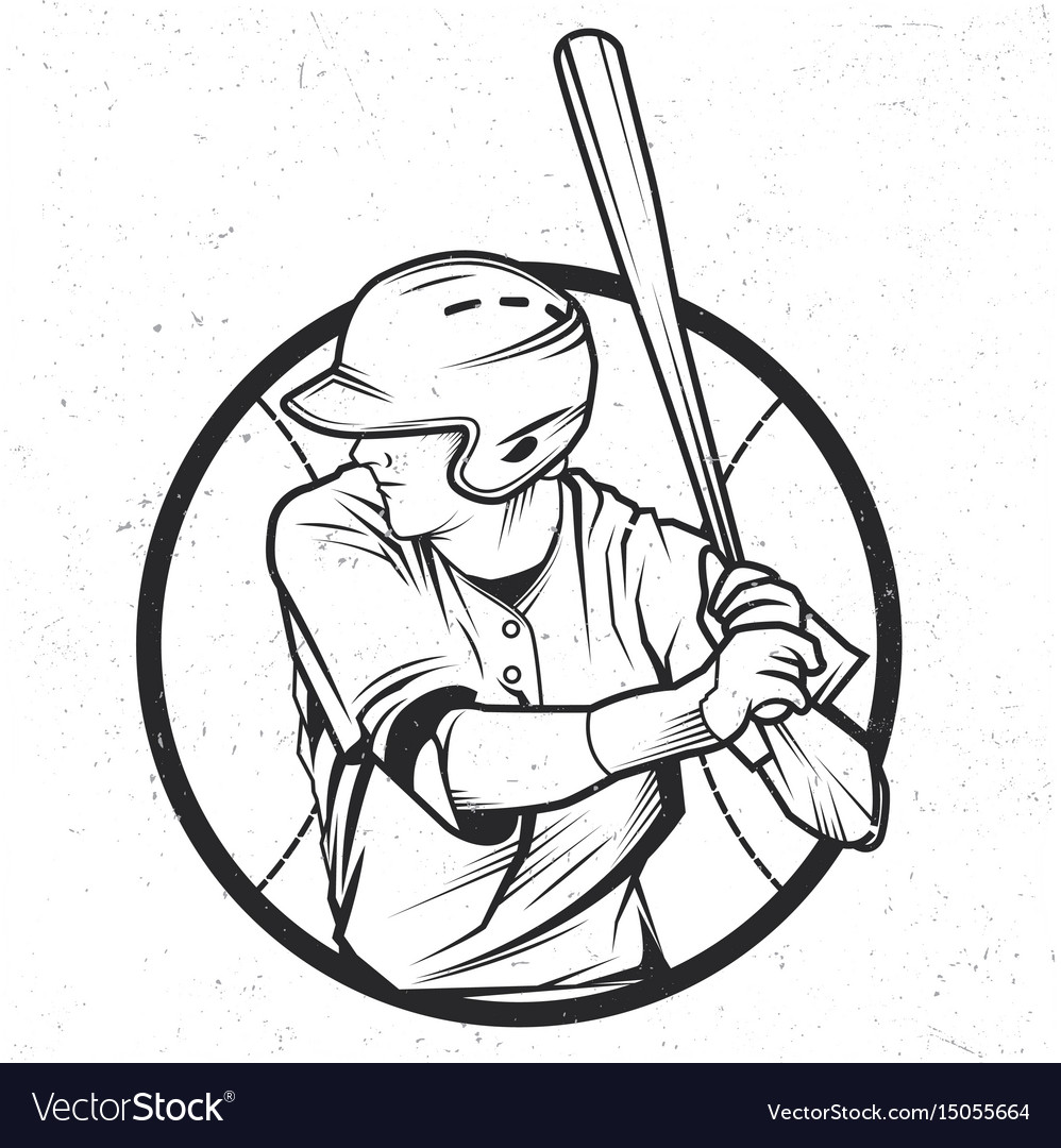 Baseball t-shirt label design